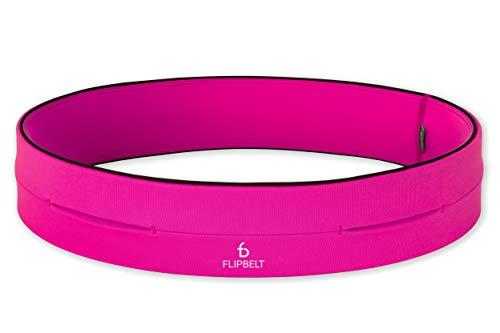 Flipbelt Classic Premium Running Belt, Pink, XXS