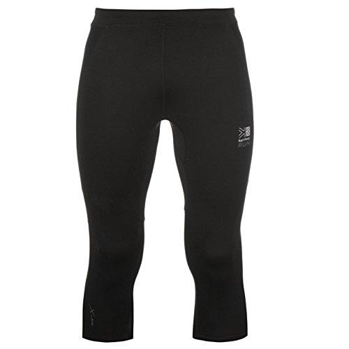 Karrimor Mens X Capri Pants Tights Trousers Activewear Three Quarter Shorts Black S