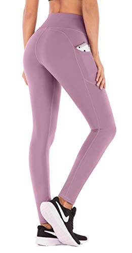IUGA Yoga Pants with Pockets, Workout Running Leggings with Pockets for Women