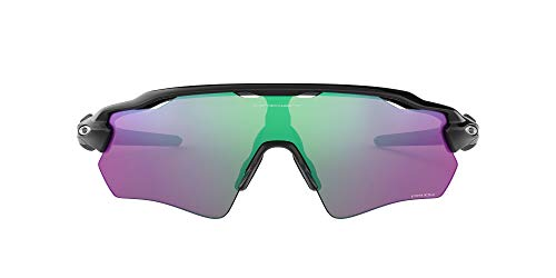 Oakley Men Radar Ev Path 920844 Sunglasses,Black(POLISHED BLACK / PRIZM GOLF),38
