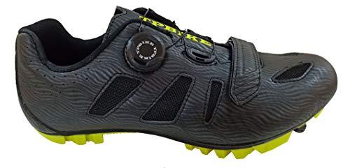 TPBIKE Mens Mountain Cycling Shoes, Mens Mountain Bike Shoes, Mountain Lock Bicycle Shoes, Spin Riding MTB Cycling Shoes