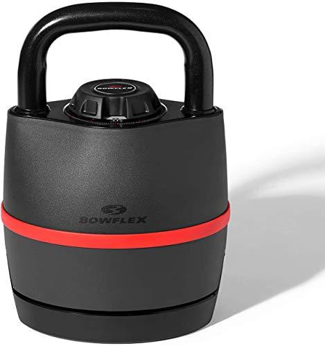 Bowflex Unisex's SelectTech Adjustable Kettlebell, Black/Red, one-size