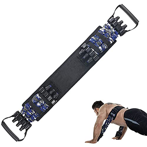 YNXing Adjustable Bench Press Assistance Resistance Bands Removable Chest Expander with Resistance Bands (105LB)