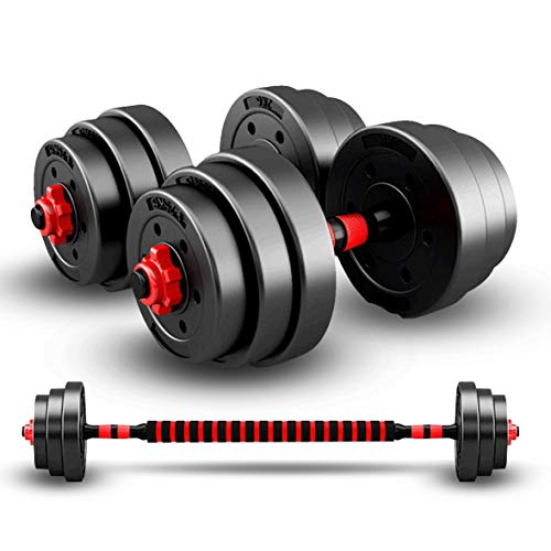 20/30/40KG Dumbbells Barbell Set With Connecting Rod,Dumbbells Barbell Set,Adjustable Dumbbells set, Adjustable Lifting Training Set for Men and Women, Body Workout Home Gym Home Heavy Dumbbells