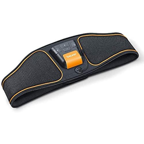 Beurer EM37 Abdominal Muscle Toning Belt | EMS training defines and strengthens abdominal muscles | 5 pre-set training programmes | Adjustable intensity | Adjustable fit for waists 70cm - 140cm