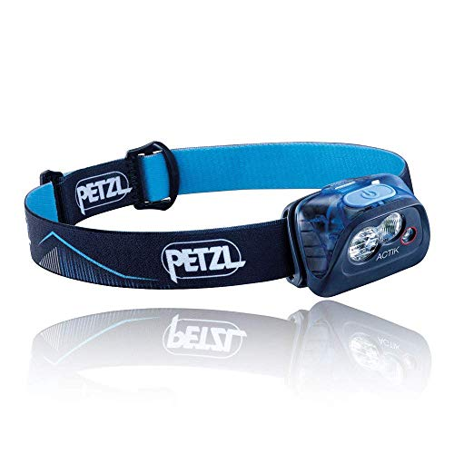 PETZL Mixed Headlight, Unisex, Actik, Blue, One Size