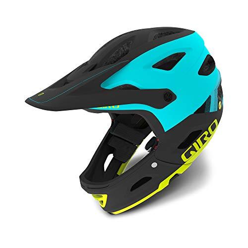 Giro Switchblade MIPS Dirt/MTB Cycling Helmet, Matt Black/Gloss Black, Medium (55-59 cm)