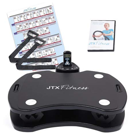 JTX SLIM-FIT: HOME VIBRATION PLATE. Powerful and Portable Gym Vibration Training. Personal Vibration Plate with Tri-Plane Vibration Technology. 2 YEAR IN-HOME SERVICE WARRANTY.