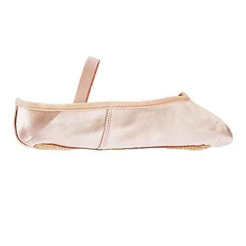 Starlite Pink Basic Satin Ballet Shoes