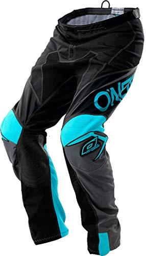 O'Neal Unisex-Adult Mayhem Lite Blocker Pant (Black/Gray/Teal, Size 28)