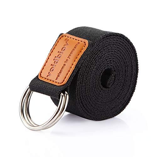 Voidbiov D-Ring Buckle Yoga Strap