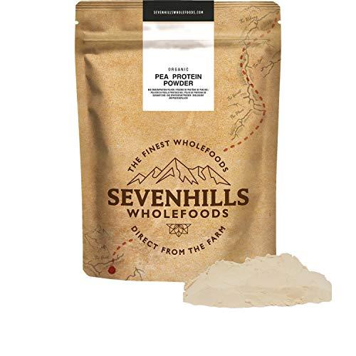 Sevenhills Wholefoods Organic Pea Protein Powder 1kg