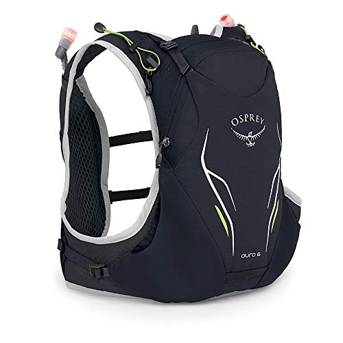Osprey Europe Unisex Duro Running Hydration Pack with 2x 500ml Hydraulics Soft Flasks