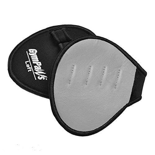 GymPaws The Gym Glove Alternative Pro Grip Leather Workout Pads (Grey)