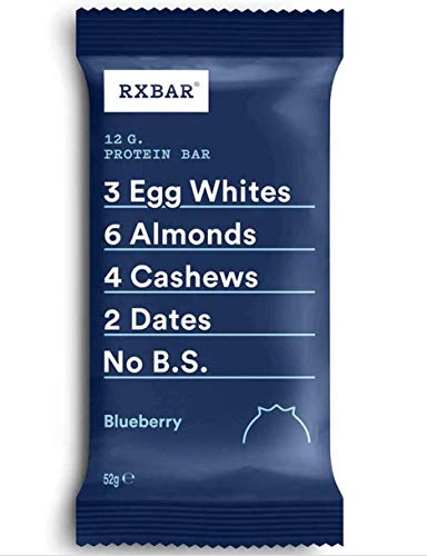 RXBAR, Protein Bar, Blueberry, Gluten Free, 12-Pack, Made in the UK