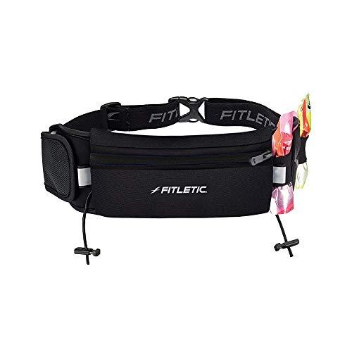 Fitletic Ultimate I Running Belt–Black, One Size