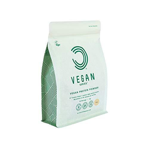 BULK POWDERS Vegan Protein Powder, Vanilla, 1 kg