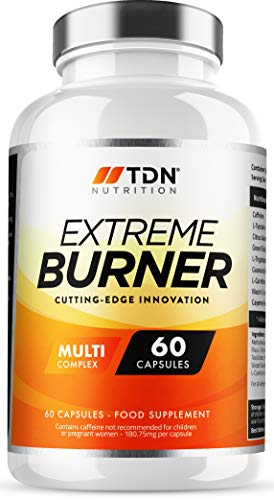 Extreme Burners - Weight Management for Men & Women - Massive 2 Months Supply - Premium Grade UK Made Diet Pills - Multi-Complex with 9 Key Ingredients - One A Day - Vegan - Trusted by Thousands