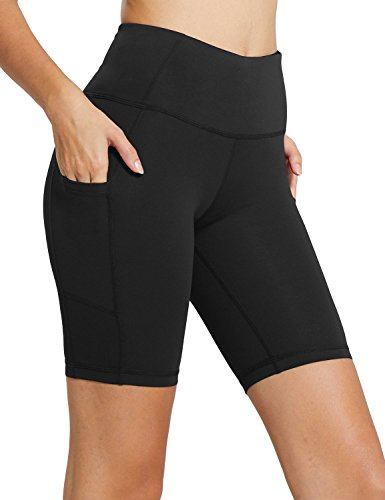 "BALEAF Women's 8"" High Waist Running Shorts"