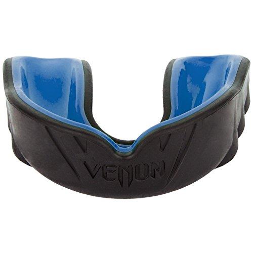 Venum Unisex Senior 11+ Year Challenger Mouth Guard, Multicolor (Black/Blue), One Size