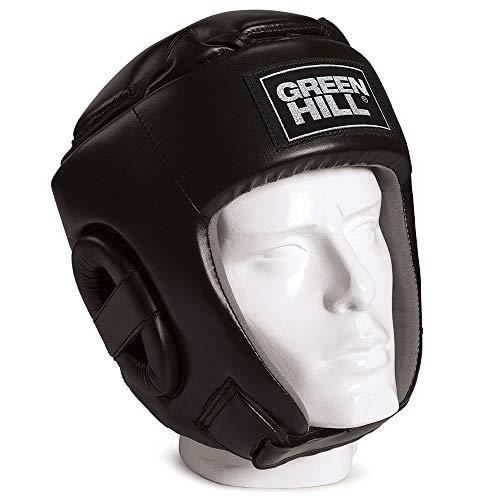 Green Hill Open Face Headgear