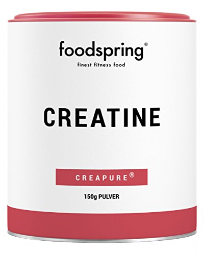 foodspring Creatine Powder, 150g, 100% Pure Premium Quality Creatine Monohydrate, Booster for Muscle Building