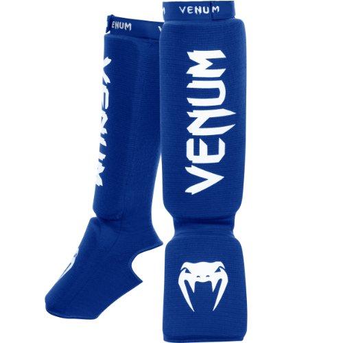 Venum Unisex Kontact Shinguards, Blue, One Size