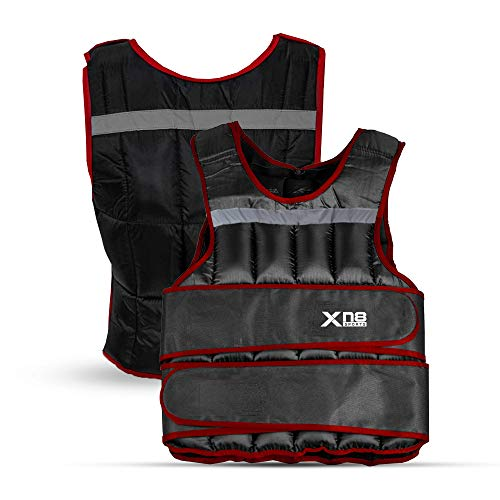 Xn8 Weighted Vest 10kg 15kg 20kg Adjustable Removable Weights-Running-Training-Weight Loss Jacket-Workout-Exercise