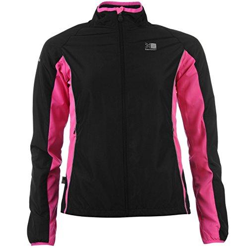 Karrimor Womens Ladies Running Jacket Long Sleeve Zip Fastening Coat Top