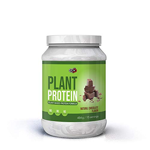 Plant Based Protein Powder Blend Chocolate|6 Sources Pea Rice Hemp Pumpkin Sunflower Carob|Probiotics Digestive Enzymes|Gluten Lactose Soy Dairy Free|Natural Sweetener Stevia Vegan|15|30|60 Servings