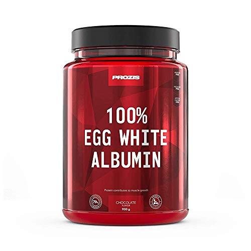 Prozis 100% Egg White - Albumin 900 g Chocolate