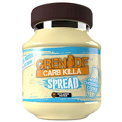 Grenade Carb Killa Protein Spread - White Chocolate Cookie, 1 x 360 g Jar