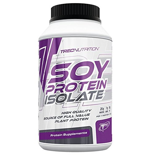 SOY PROTEIN ISOLATE 650G mass growth muscle gain - CHOCOLATE BY TREC NUTRITION M