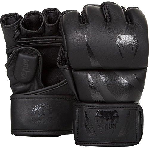 Venum Challenger MMA Gloves, Black (Black/Black), M