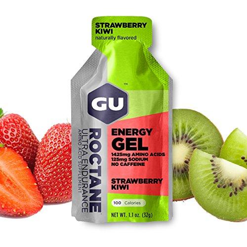 GU Energy Labs Roctane Ultra Endurance Energy Gel Strawberry Kiwi 24 Pckts