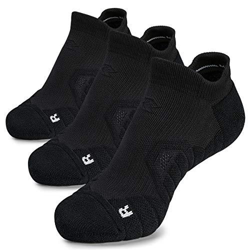Hylaea No Show Unisex Compression Socks for Running, Trainer, Sport, Walking, Travel, Low Cut