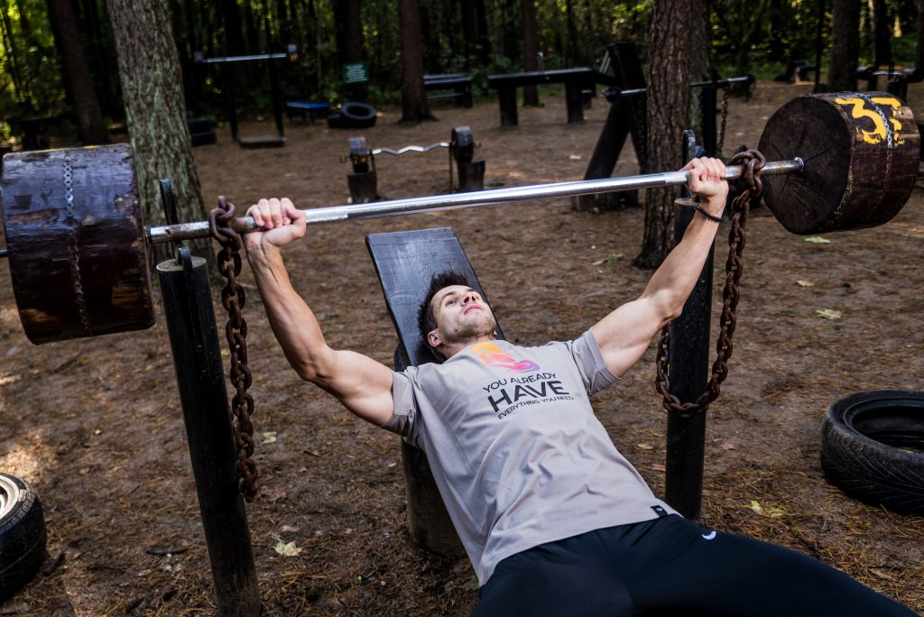 how to build strength and muscle at home uk
